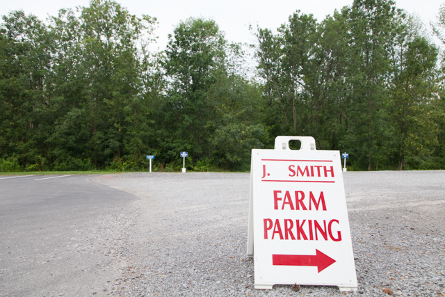 Smith Farm Parking